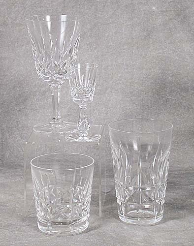 405: Waterford crystal barware in an unknown