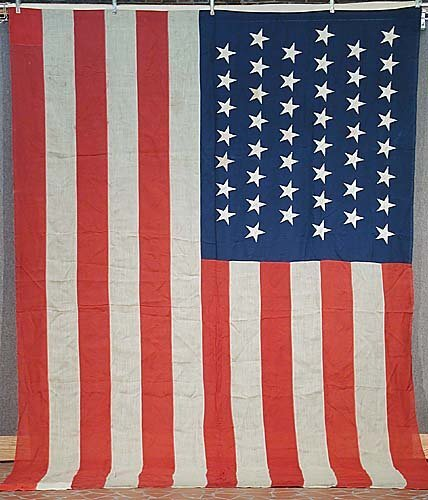 427: 45-star American national flag circa (18