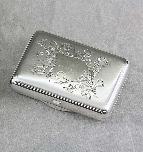 019: Russian silver cigar case circa 1900