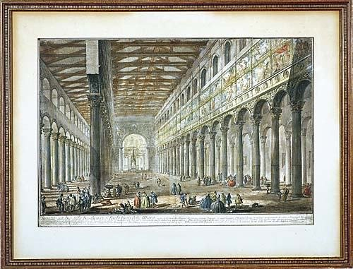 348: Piranesi, Giovanni (after) Italian (1720-1778)