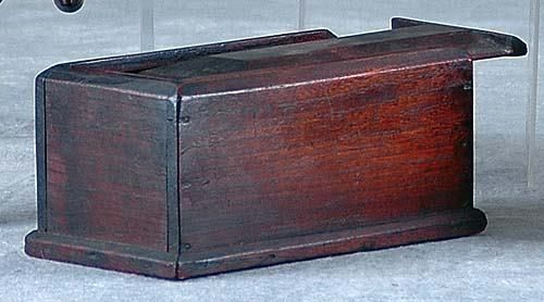 American candle box Date:first half 19th century