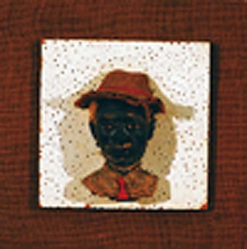 405: Southern folk art plaque Date:early 20th century