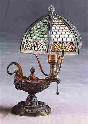 Art Nouveau table lamp Date:early 20th century