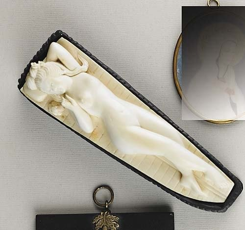 004: Japanese carved ivory doctor's lady   20th century