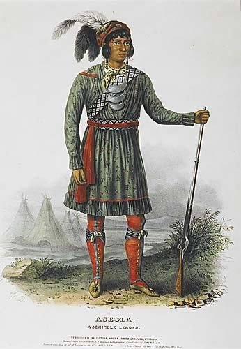 550: McKenney & Hall Indian portrait19th century'ASEOLA