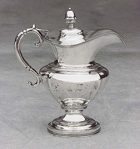 570: Southern coin silver milk jug, Hayden & GreggCharl
