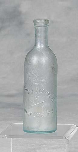 426A: South Carolina Dispensary bottle circa 1895 1pt s