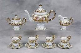 152: Austrian porcelain coffee service first half 20th