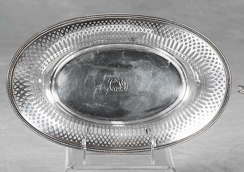 459: Tiffany & Co sterling basket early 20th century be