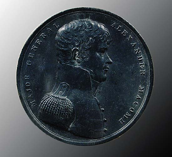 4: Three Borghese medallion replicas  Italian