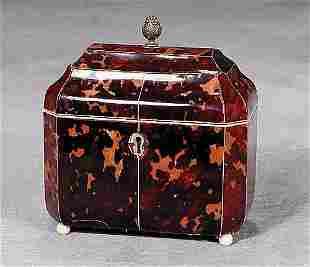 Regency tea caddy circa 1830
