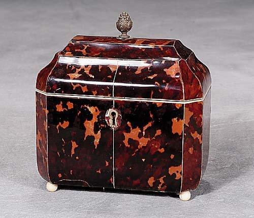 6: Regency tea caddy  circa 1830