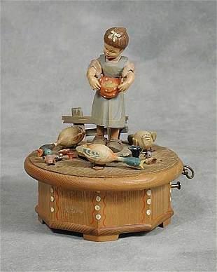 Ruege automaton music box rotating young
