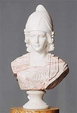 Continental (20th century) BUST OF FEMALE