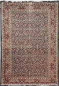 319: Antique Persian Afshar carpet circa 190