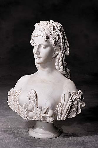 404: Continental (20th century) BUST OF PARTI
