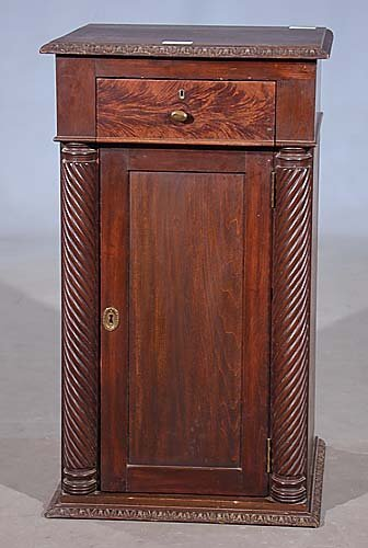 018: Classical style mahogany cabinet late 19