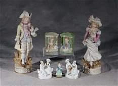 523: Collection of twelve figurines