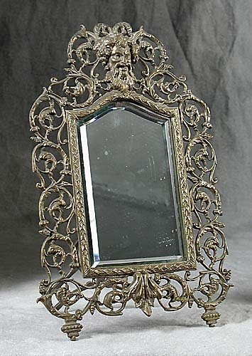 011: Reticulated brass frame circa 1900 bacch