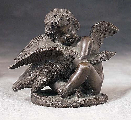 012: Continental school (19th century) CHERUB