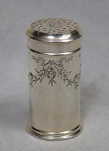 Whiting sterling sugar caster circa 1917