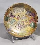 Fine Japanese Satsuma earthenware bowl-circa