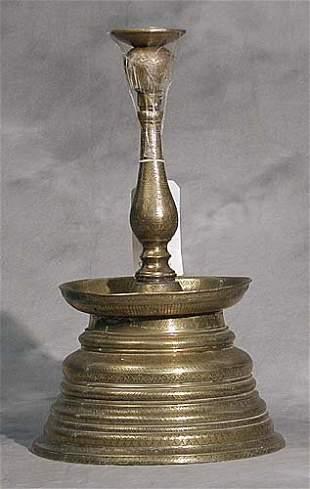 020: Mamluk single candlestick late 19th cent