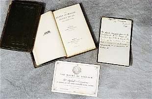 2 vols. books: Lord Tennyson and documen