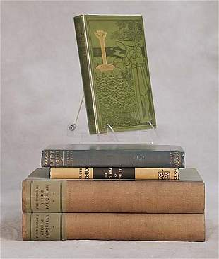 5 vols. books: various titles dated 1902