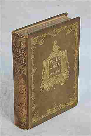1 vol. book: PETER AND WENDY dated 1911