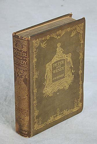 411: 1 vol. book: PETER AND WENDY dated 1911