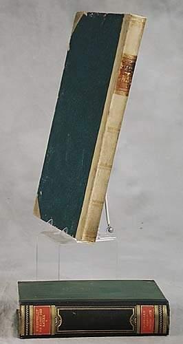 2 vols. books: Greek and Roman dated 181