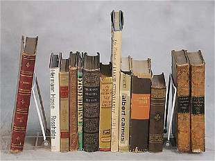 13 vols. books: various titles dated 182