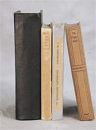 4 vols. books: various titles dated 1822