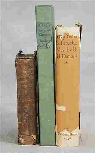 3 vols. books: various titles chronicles