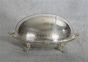 Silverplate breakfast warmer circa 1900