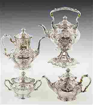 Gorham sterling tea and coffee service c