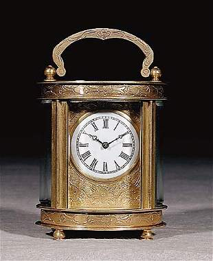 French carriage clock early 20th century