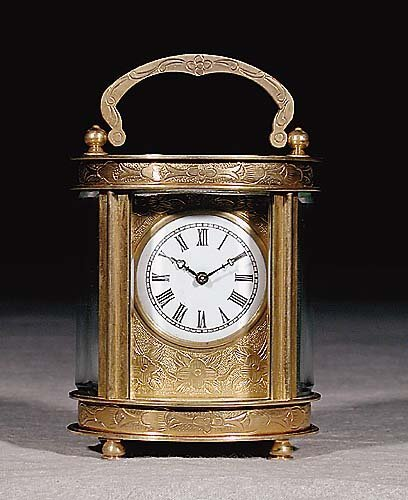20: French carriage clock early 20th century