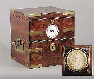 English marine chronometer, Litherland, Davies & Co