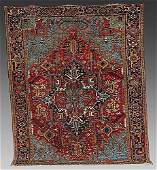 276: Antique Persian Heriz carpet circa 1920