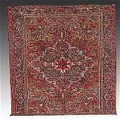 277 Antique Persian Heriz carpet circa 1920