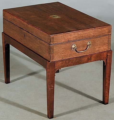 22: Scottish pine dressing box on stand Date: 19th cent