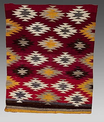 416: Navajo child's wearing blanket Date: circa 1880-95