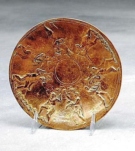 1: Gorham bronze Arretine bowl