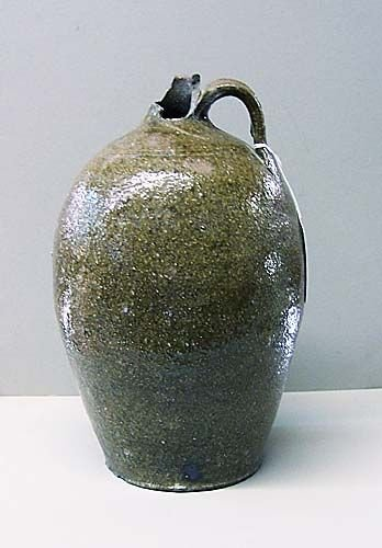 505: Catawba Valley stoneware jug