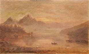 019: Duret, M. Continental (late 19th century) MISTY BA