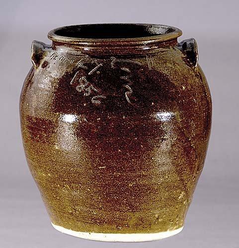406: Edgefield District 'Dave' storage jar circa 1856 o
