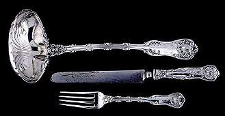 746: Whiting sterling 'Imperial Queen' flatware circa 1