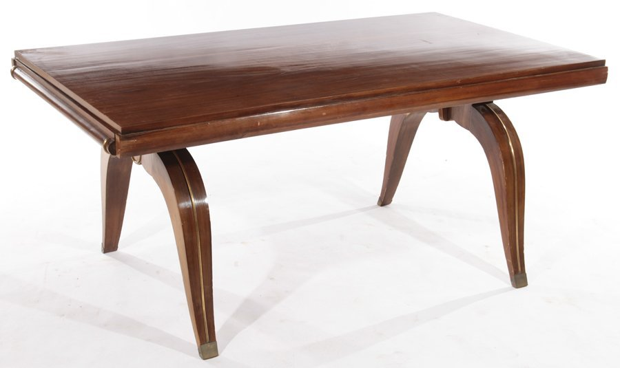 FRENCH ART DECO DINING TABLE CIRCA 1930